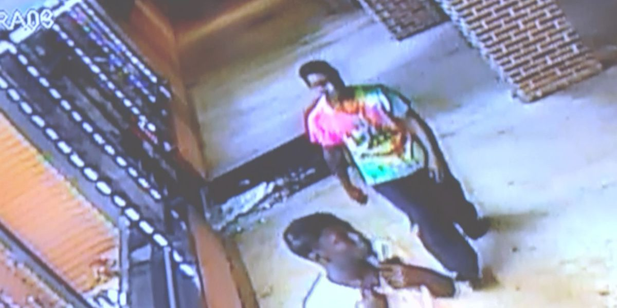 CAUGHT ON CAMERA: Two men shatter door of Albany business