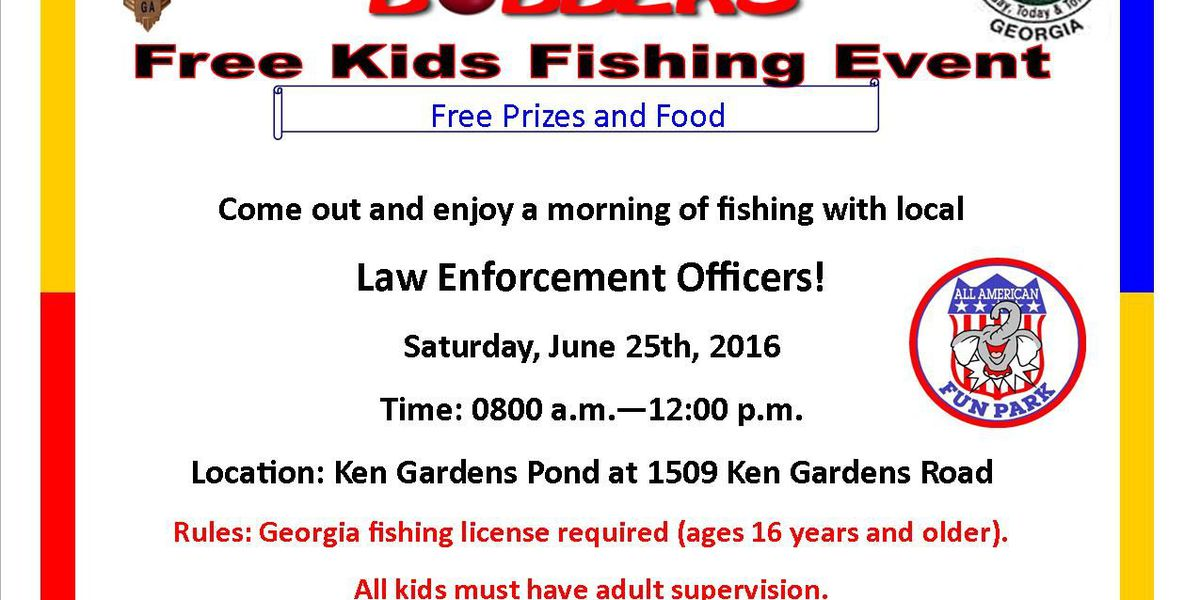 APD Crime Prevention Unit hosting 'Cops and Bobbers'