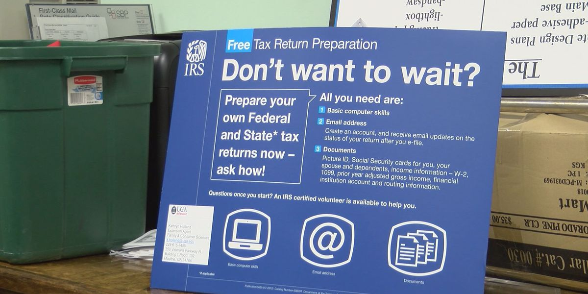 Organizations in Colquitt County offer tax filing assistance