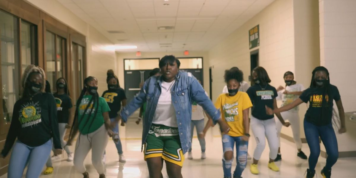 Monroe High teachers go viral with back-to-school rap video