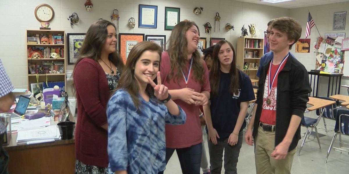 Albany literary team wins state championship