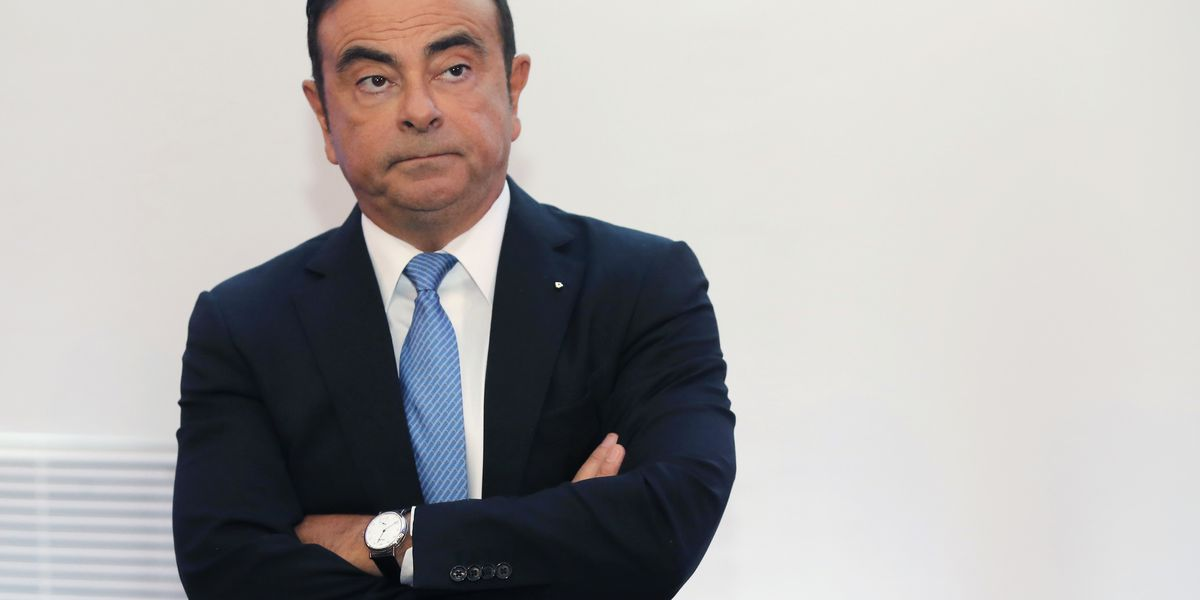 The Latest: Renault shares tank as CEO Ghosn under fire
