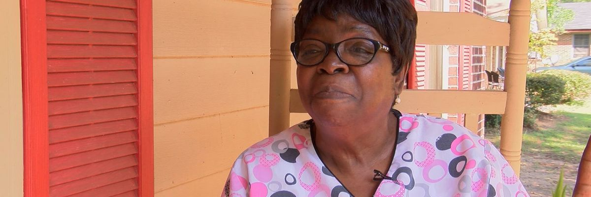 Albany woman thankful after nearly losing it all from Hurricane Michael