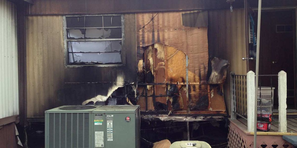 Fire rips through Worth Co. home