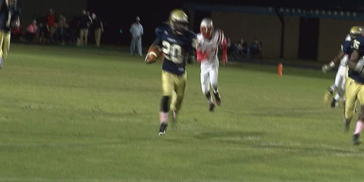 WALB PLAY OF THE WEEK (10/12/15): Early Co.'s Brown speeds for TD