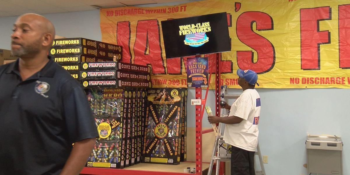 Firecrackers skyrocket off shelves at Jake's Fireworks