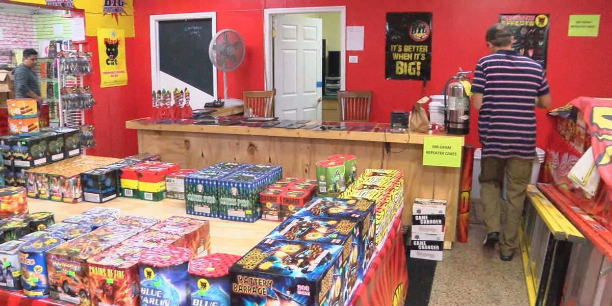 There's plenty of time to buy fireworks ahead of New Year's Eve