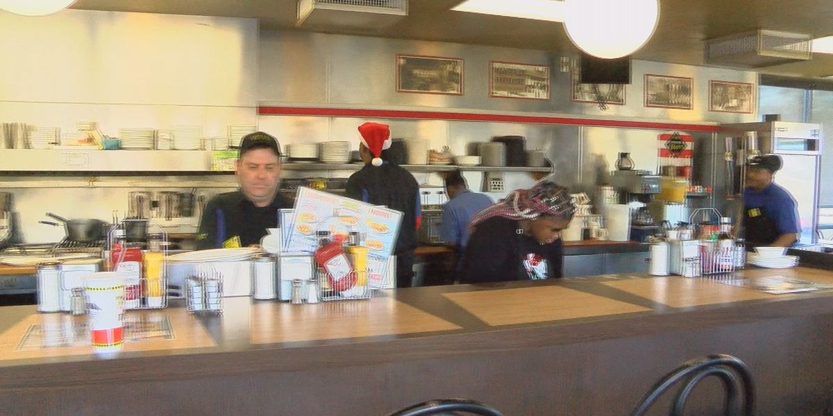 Waffle House serves up more than waffles Christmas Day
