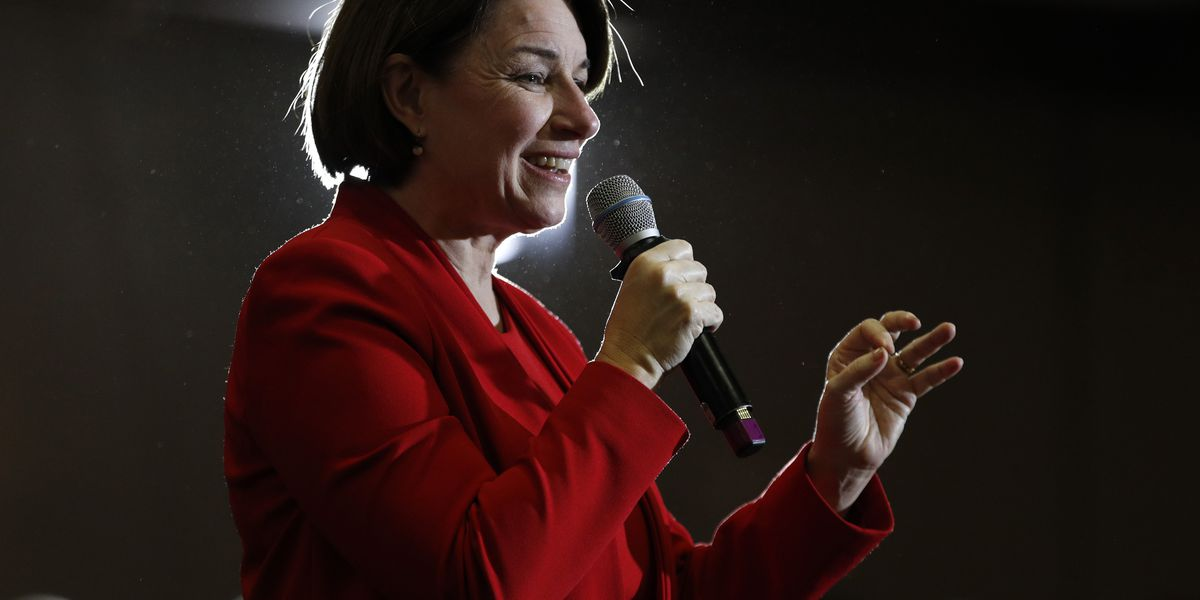 Klobuchar's husband tests positive for coronavirus