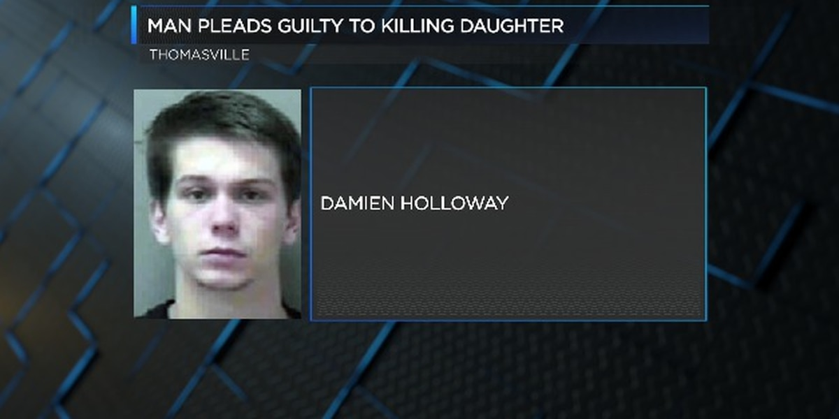 Thomasville man accused of killing infant daughter pleads guilty