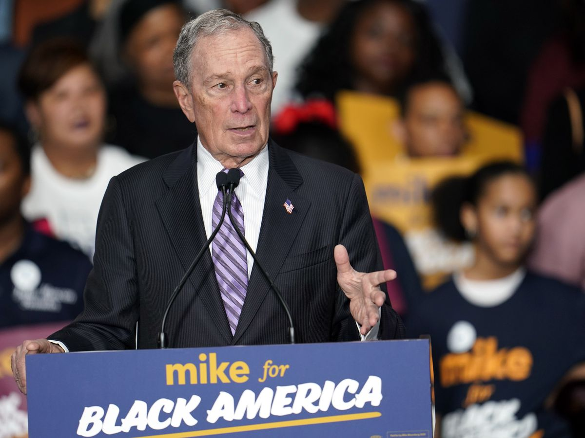Bloomberg to go face to face against rivals after ad blitz