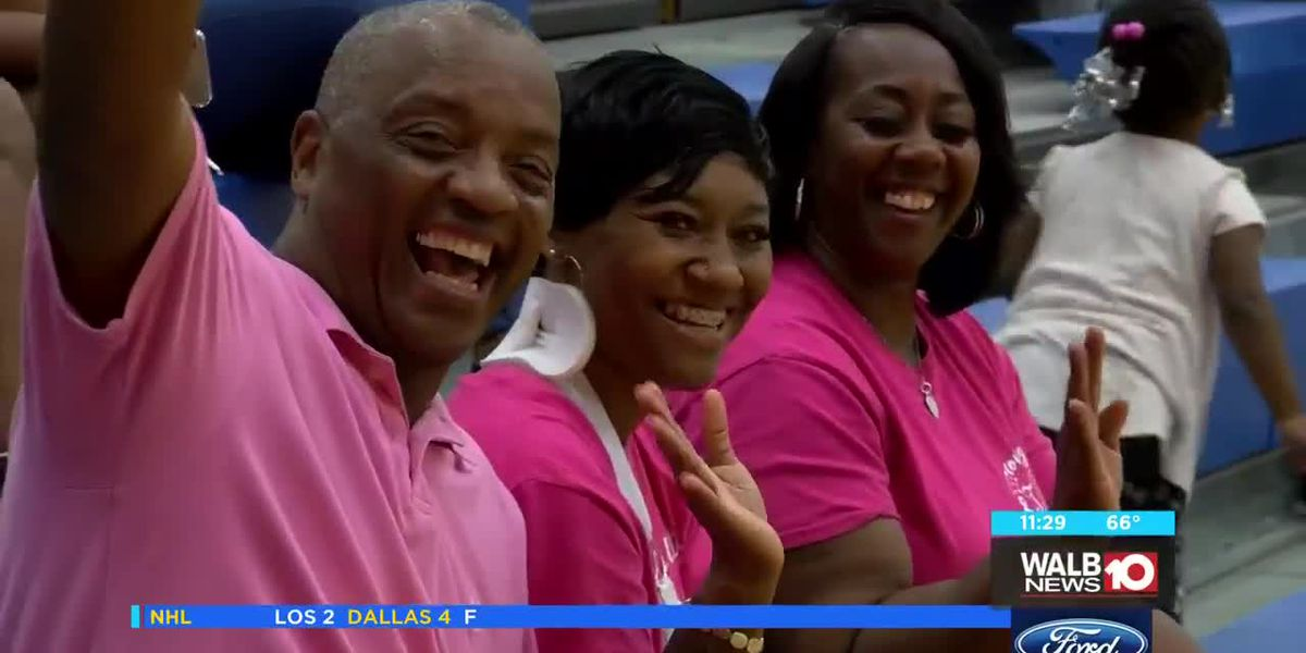 Albany State wins Breast Cancer Awareness match