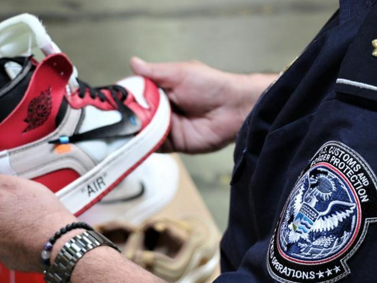 Fake Nikes worth $2.2 million seized at California port