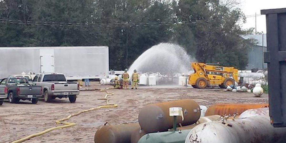 No injuries at Adel propane station fire