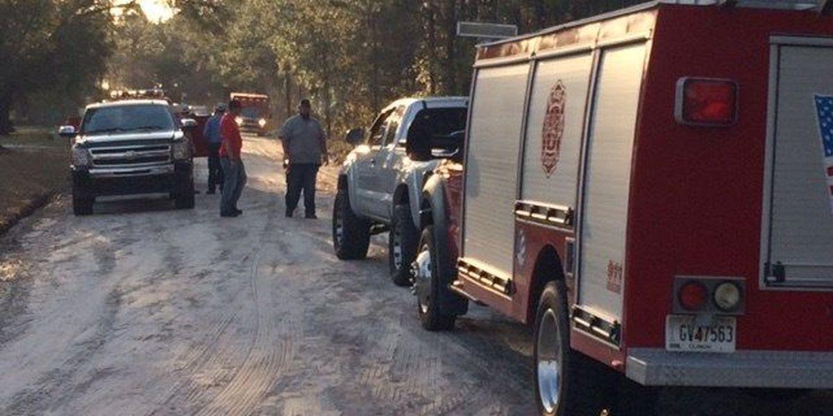 Officials respond to plane crash near Homerville, no injuries