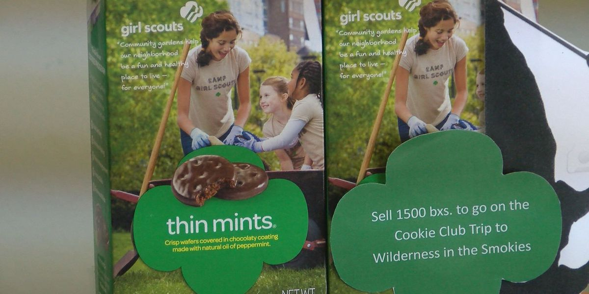 Girl Scout cookie sales have started