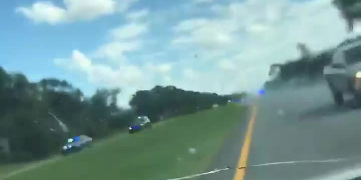 Viewer-submitted video of Grady, Miller Co. high speed chase