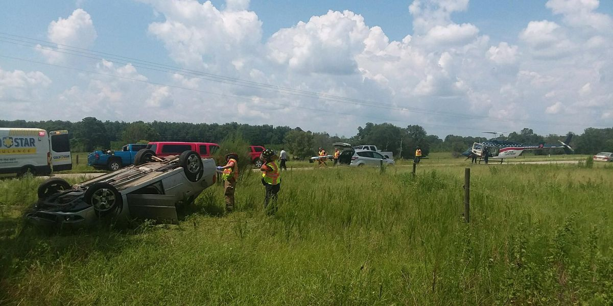 One airlifted after wreck in Sumter Co.
