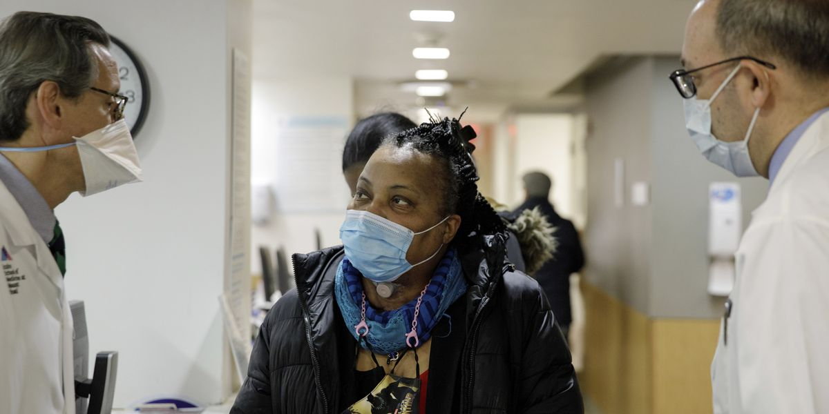 Woman recovering after rare windpipe transplant from donor