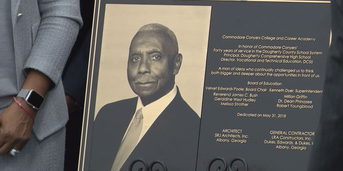 4C Academy building dedicated to honor late Commodore Conyers