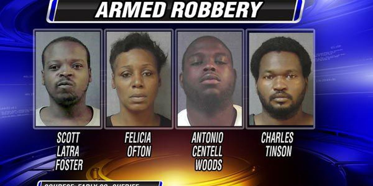 Armed robbery suspects arrested in Early Co.