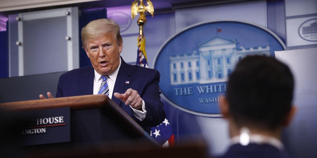 Trump says of Ghislaine Maxwell, 'I wish her well'