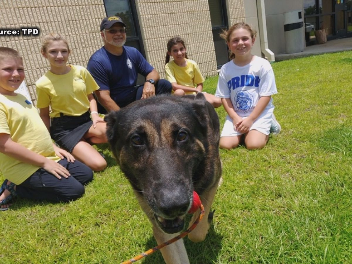Thomasville girls raise money for police K-9s to get bullet-proof vests