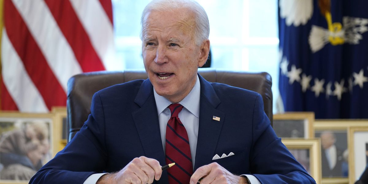LIVE: Biden to order a review of US supply chains for vital goods
