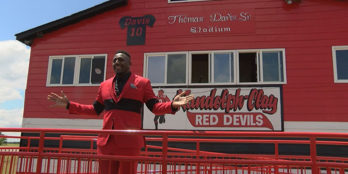 Randolph-Clay names stadium after Thomas Davis, Sr.