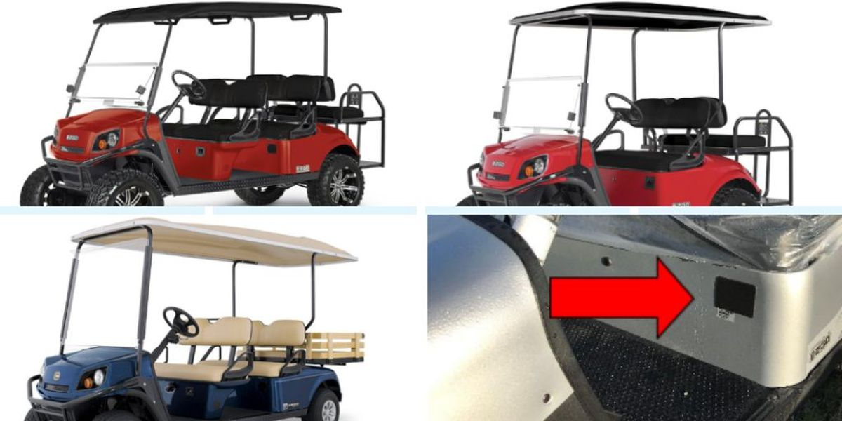 Gas-powered off-road vehicles recalled due to fire hazard