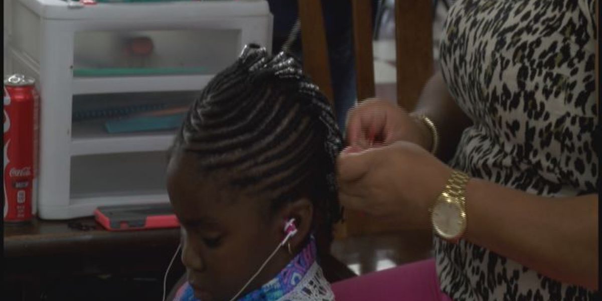 Fresh back to school braids for Albany girls