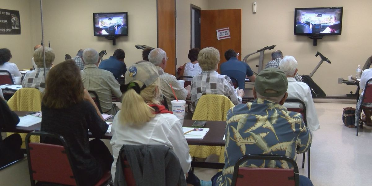 Leroy Rogers Senior Center hosts driver safety course