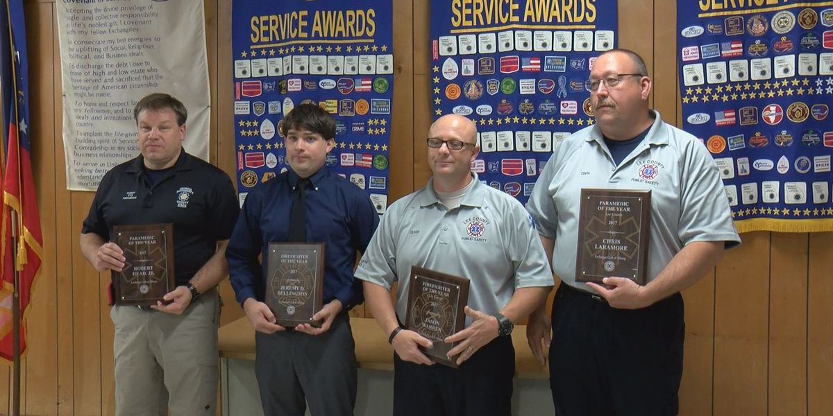 Exchange Club awards Firefighters and Paramedics of the Year
