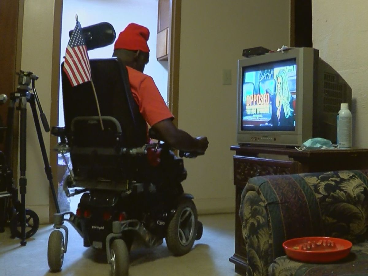 Wheelchair repaired by veteran goes to Dawson man