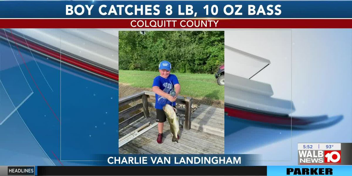 Good News: Colquitt Co. boy, grandpa catch 8 pound bass