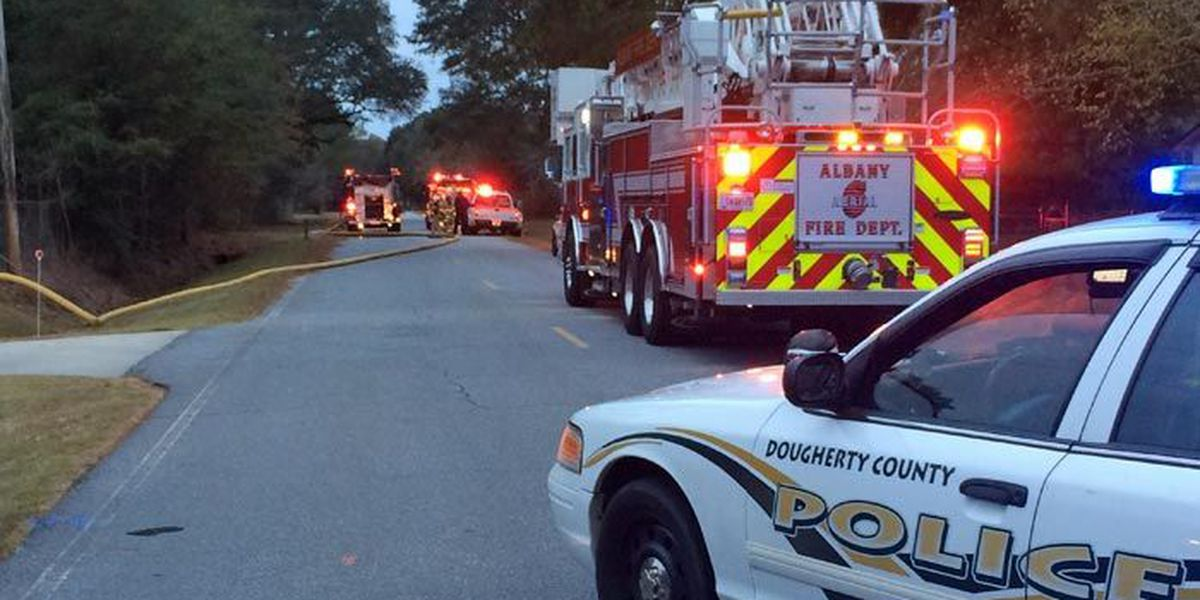 Second Albany house burns early Wednesday morning