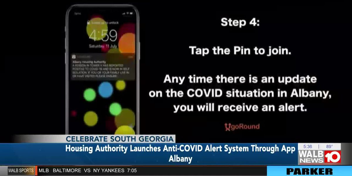 Albany Housing Authority launches anti-COVID alert system through app