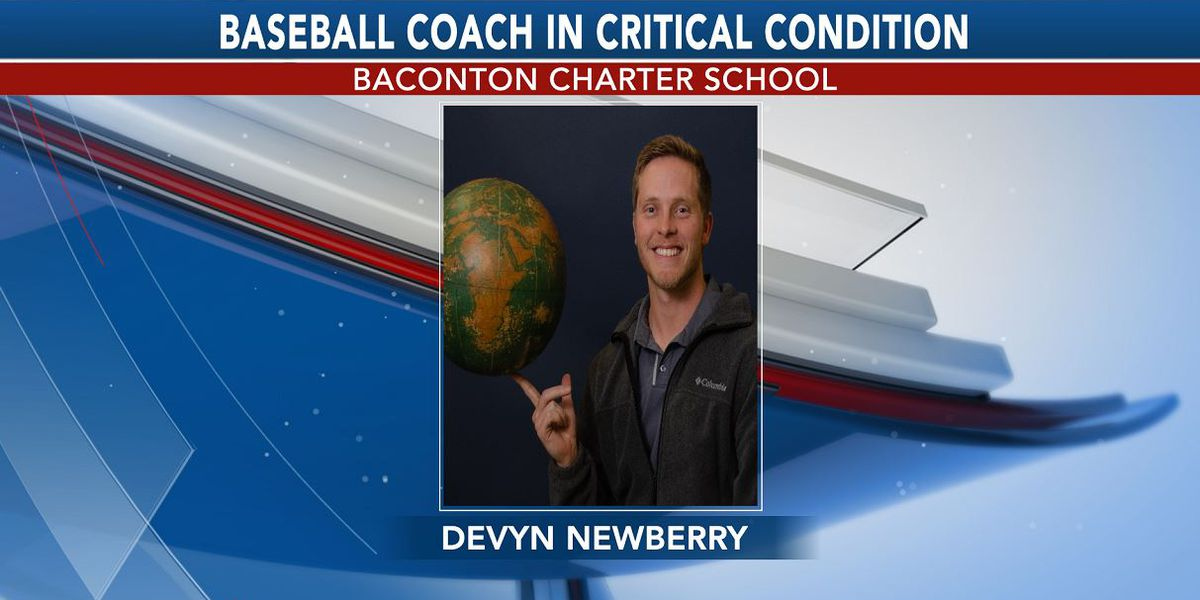 Baconton Charter baseball coach in critical condition after wreck