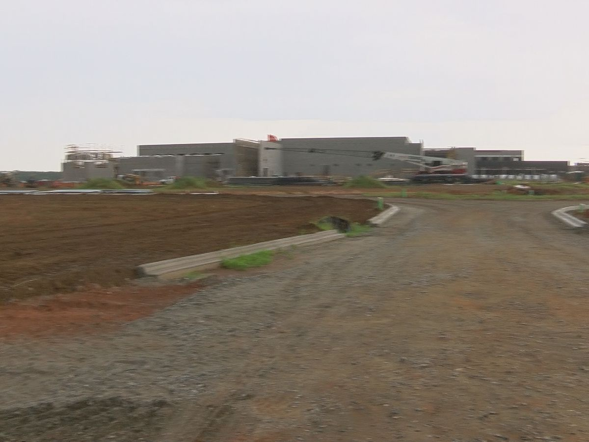COVID-19 not slowing down Sumter Co. High school construction