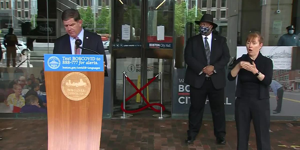 Mayor announces cancellation of Boston Marathon