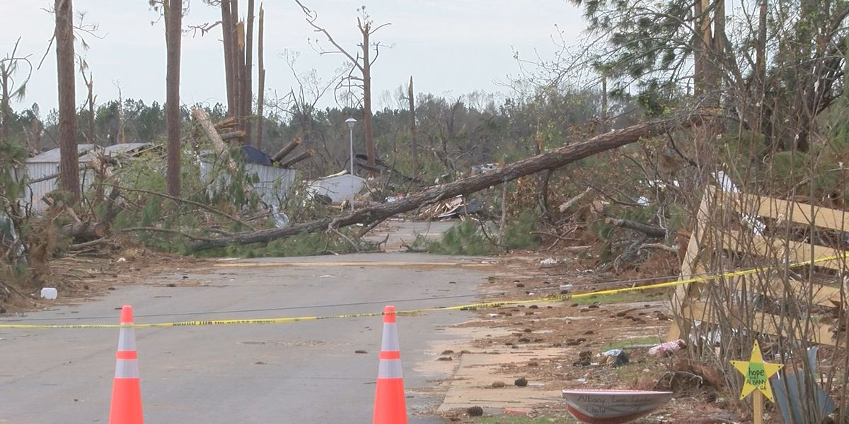 Cleanup progresses near Holly Drive
