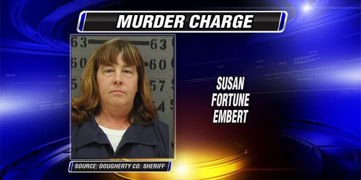 Wife charged with husband's murder back in Georgia