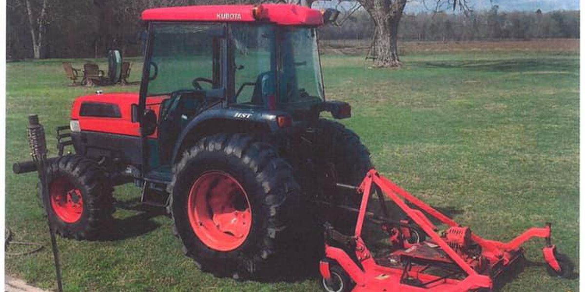 Berrien Co. Sheriff's Office searching for stolen tractor