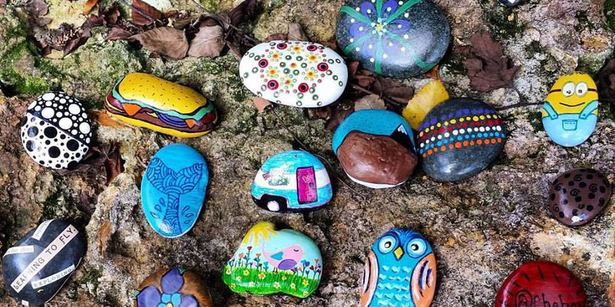 Hidden painted rocks offer free admission to Chehaw