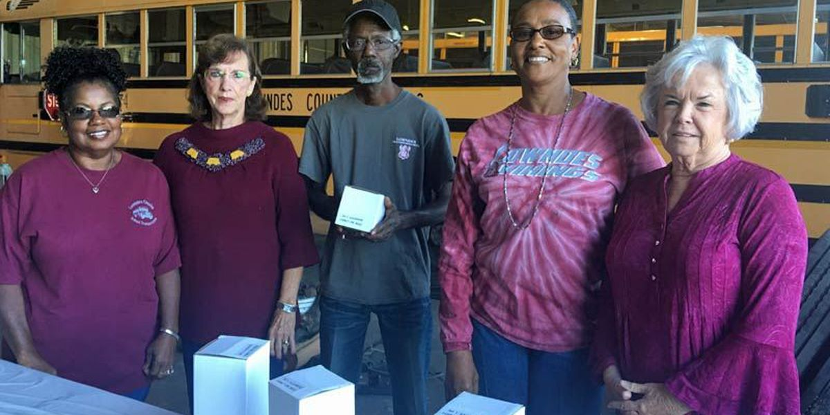 Lowndes County Schools honor bus drivers
