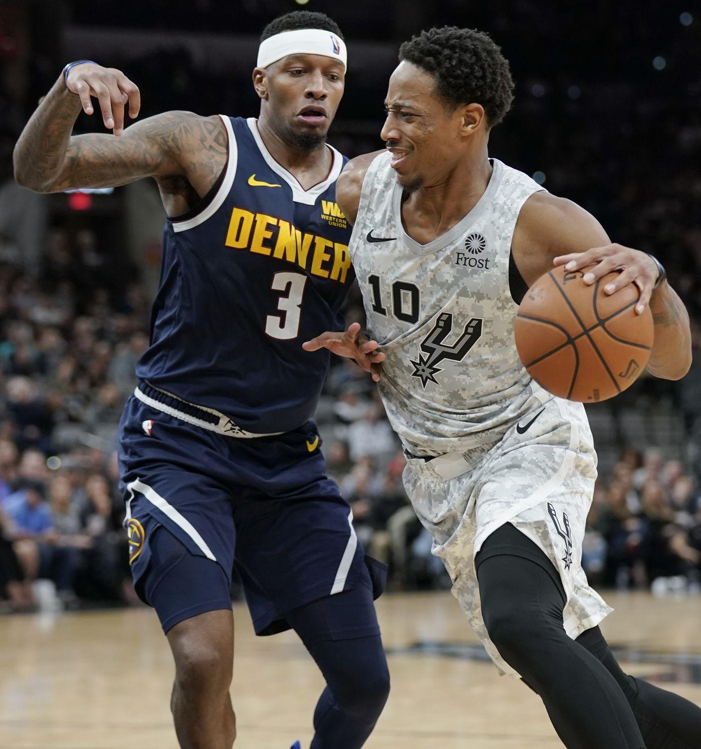 Denver Nuggets Basketball: DeRozan, Aldridge Lead Spurs Past Nuggets 111-103