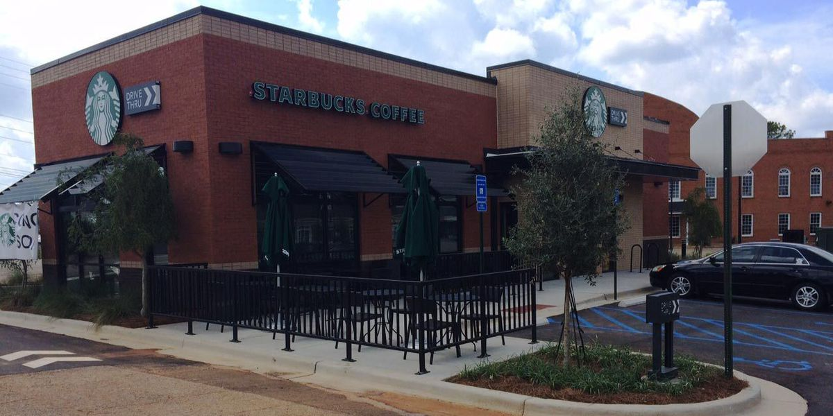 Crews put final touches on new Albany Starbucks
