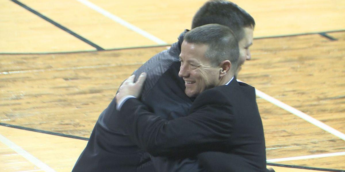 Gary Goff welcomed as new head football coach at VSU