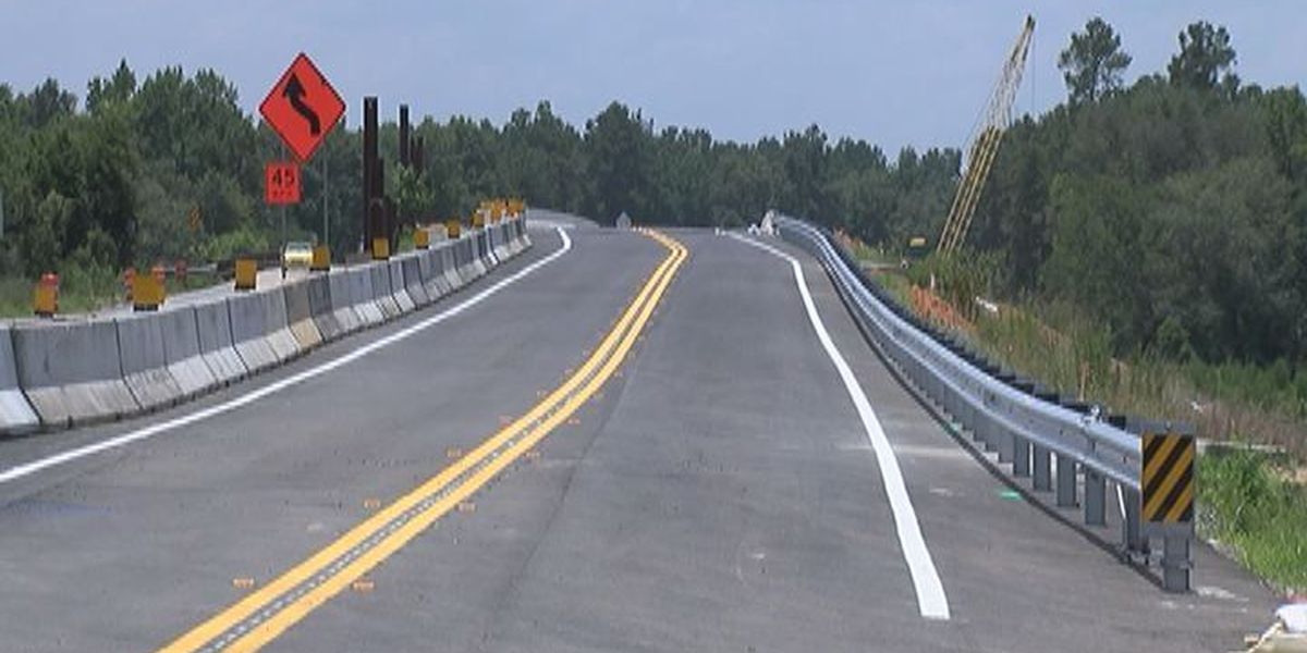 New and improved bridge opens at the Georgia-Florida line