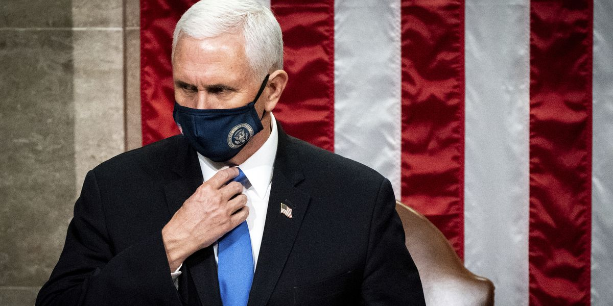 After frosty few days, Pence, Trump appear to reach détente